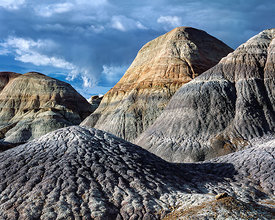 Blue Mesa Shale Mounds