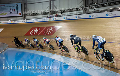 Cat A Women Keirin 1-6 Final. Track Ontario Cup #3, February 9, 2020