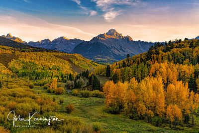 Last Light at Mount Sneffels, Uncompahgre National Forest, Colorado