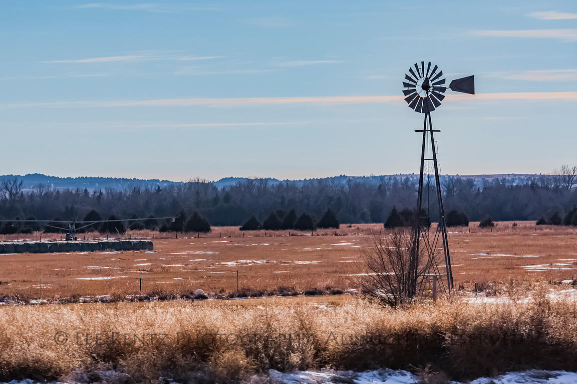 Windmill on Nebraska Range