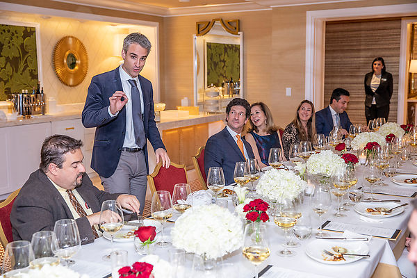 7 November, 2019-Saint Martin's Wine Dinner at Encore Boston Harbor