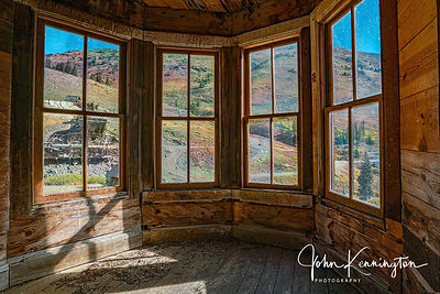 View From the Duncan House, Animas Forks Ghost Town, Colorado