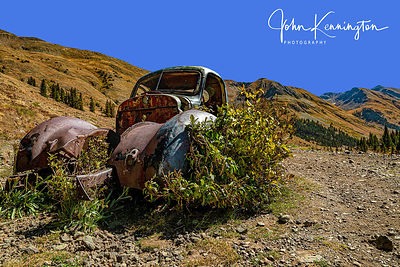 Abandonded Truck, Animas Forks Ghost Town, Colorado