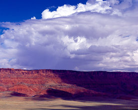 The Vermillion Cliffs