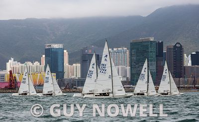 "One Global HKRNVR Memorial Vase 2021. Pursuit race starting in Victoria Harbour, and sailed ""in waters formerly patrolled by ..."