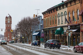 Main Street in Chelsea, Michigan,