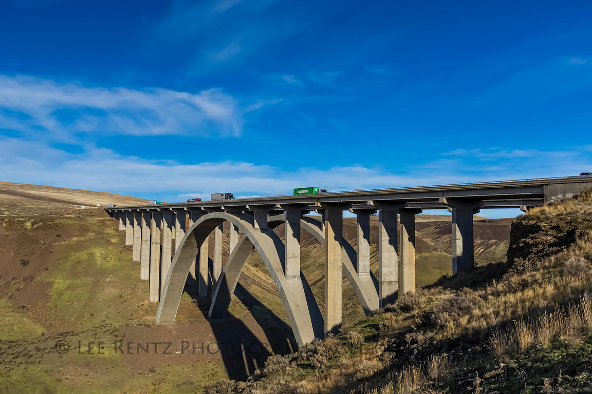 Selah Creek Bridge in Washington State