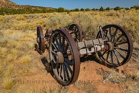 Old Wagon in Pipe Spring National Monument