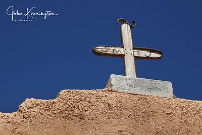 San Jose Garcia Cross, Las Trampas, New Mexico