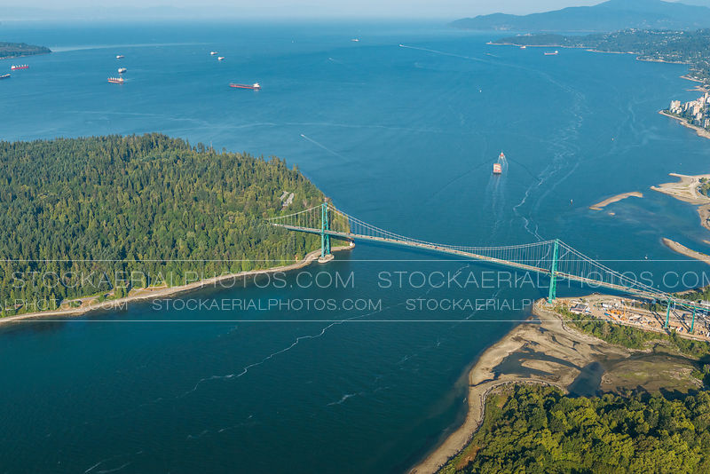 Lions Gate Bridge and English Bay