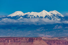 La Sal Mountains Viewed from Canyonlands National Park