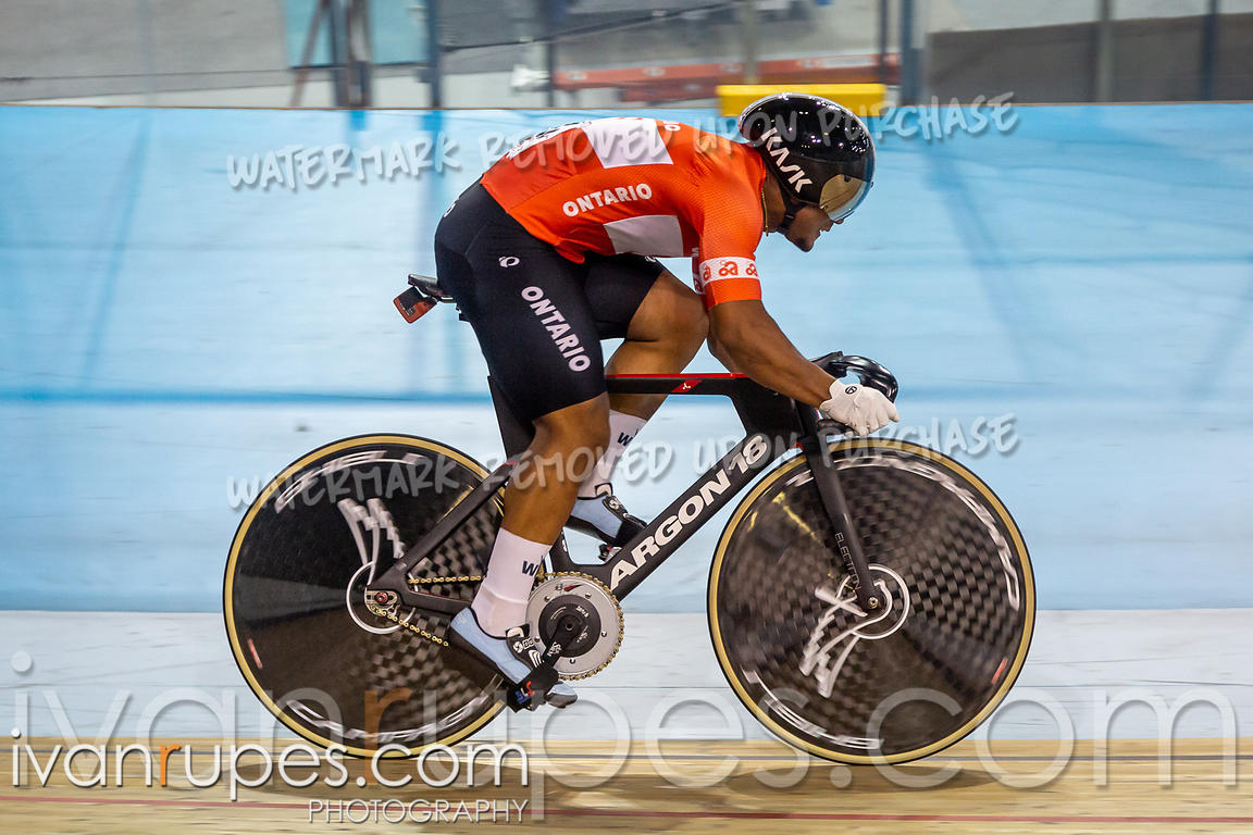 Men Team Sprint Qualification. Canadian Track Championships, September 26, 2019