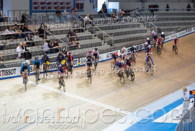 Junior Men Scratch Race/Omni I.  2020 Ontario Track Championships, March 7, 2020