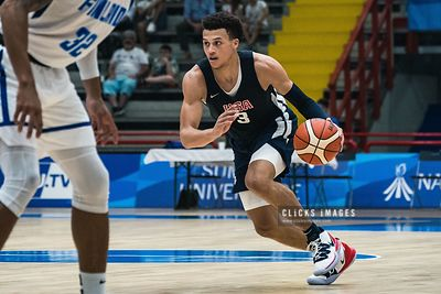 Basketball: Finland v USA  - 2019 Summer Universiade