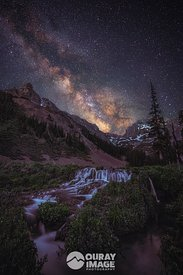 San Juan Mountain Milky Way