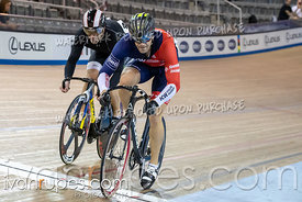 Master A Men Sprint Final. 2020 Ontario Track Championships, March 7, 2020
