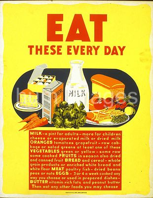 Eat these every day ca. 1941-1943