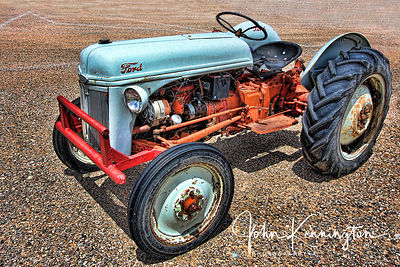 Ford 8N Tractor, Route 66, Moriarty, New Mexico