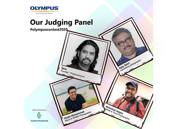 Judging Olympus India Photo Competition, May 2020