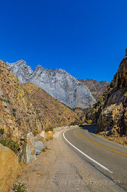 Along the Kings Canyon Scenic Byway in Giant Sequoia National Monument