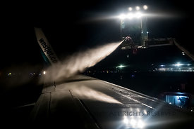 Deicing Plane for a Winter Flight
