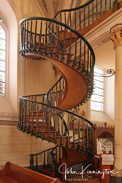 Loretto Chapel Staircase, Santa Fe, New Mexico