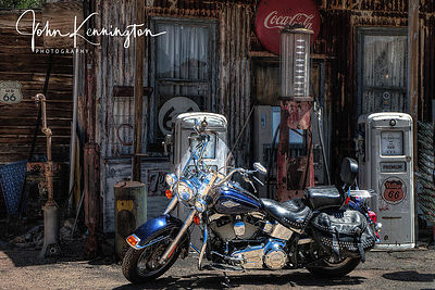 Harley No 1, Route 66, Hackberry General Store, Arizona