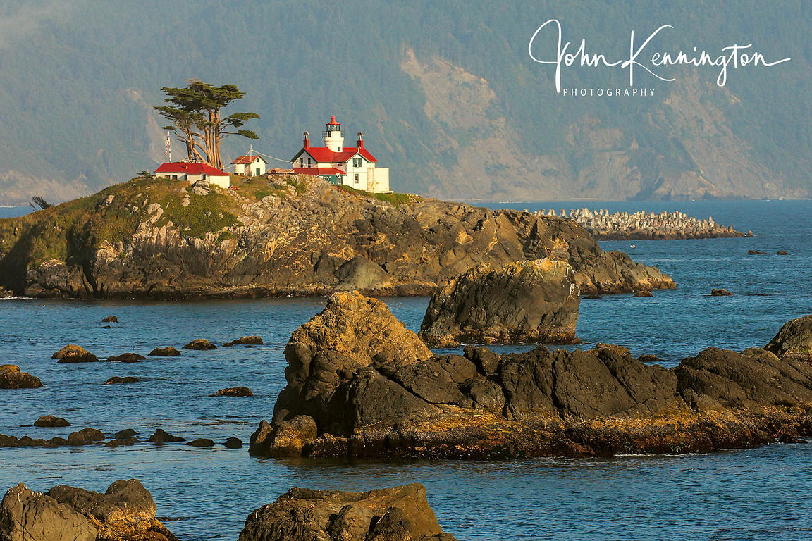 Battery Point Light, Crescent City, California