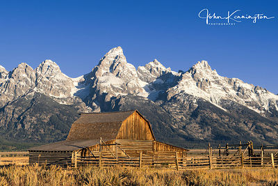 South Moulton Barn, Grand Teton National Park, Wyoming