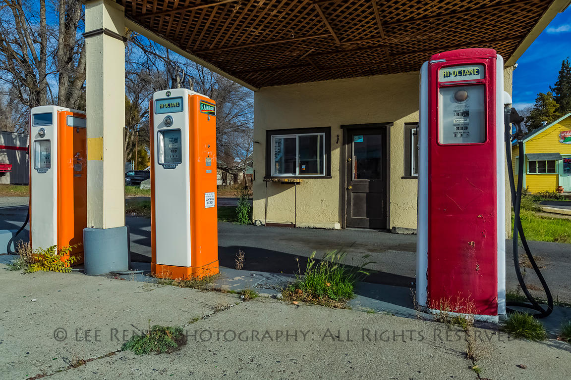 Wippel Station in Ellensburg, Washington