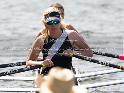 Taken during the NZNI Championships 2020, Lake Karapiro, Cambridge, New Zealand; ©  Rob Bristow; Frame 6085 - Taken on: Frida...