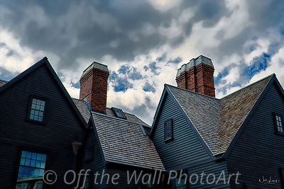 House of Seven Gables Chimney