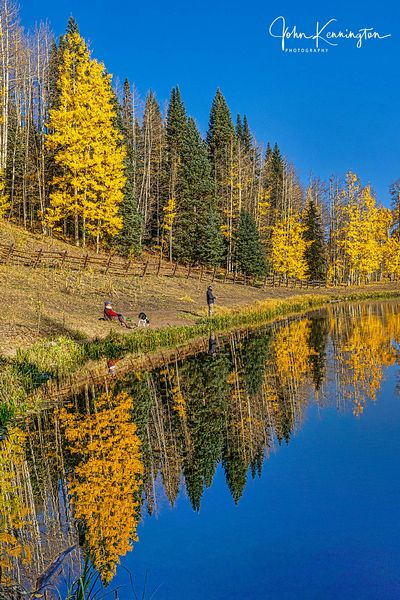 Rowdy Lake Reflections No. 2, Uncompahgre National Forest, Colorado