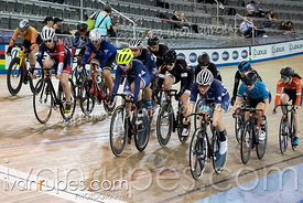Cat A Women Elimination Race. Track Ontario Cup #3, February 8, 2020