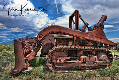 Old Dozer, Route 66, Moriarty, New Mexico