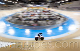 Women C2 Pursuit Qualifying. 2020 UCI Para-Cycling Track World Championships, Day 1 Morning Session, January 30, 2020