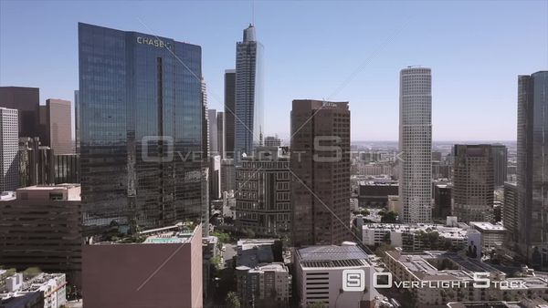 Downtown DTLA Los Angeles Aerial Drone View