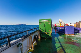 Ferry Heading toward Burgeo in Newfoundland