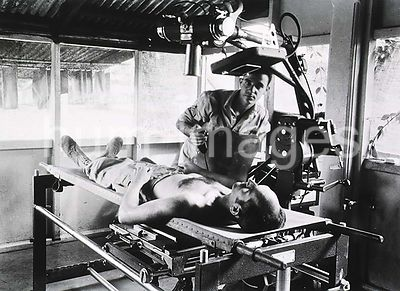 X-ray procedure at the 1st Field Hospital, Milne Bay, New Guinea ca. 1943