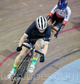 Cat B Women Points Race. Track Ontario Cup #3, February 8, 2020
