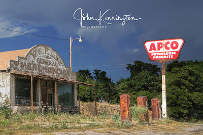 Kelly Gas Station and General Store, Route 66, Cogar, Oklahoma
