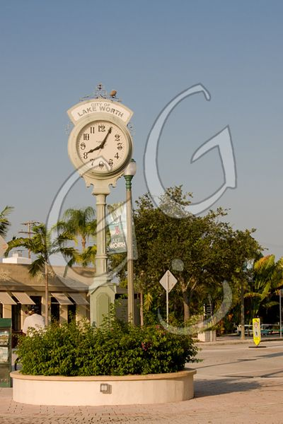Lake Worth clock