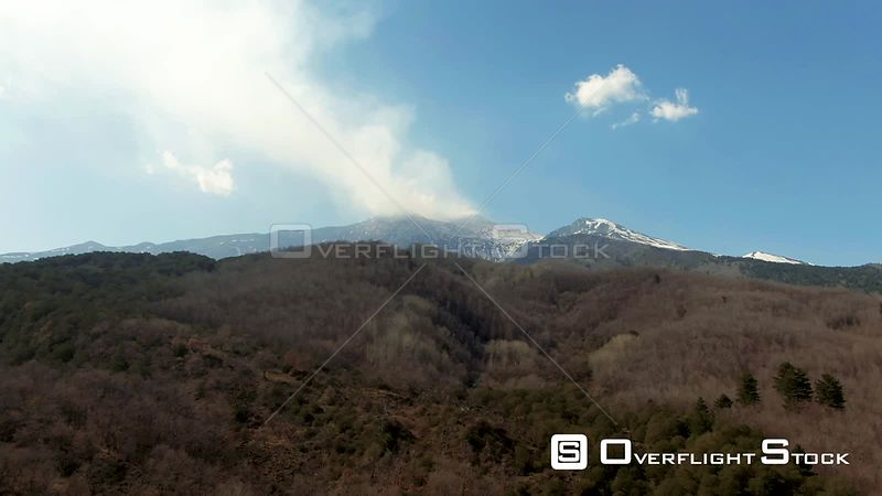 Mount Etna in Winter