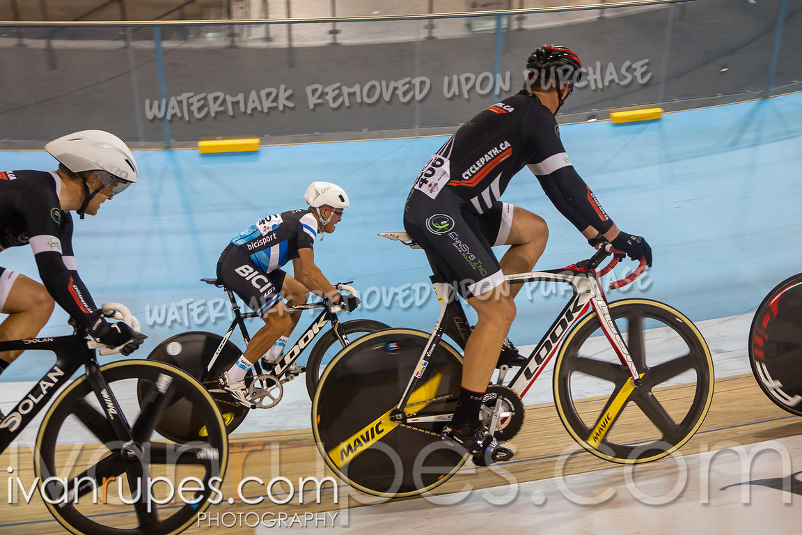 Master C Mmen Points Race. Canadian Track Championships, September 26, 2019