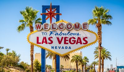 Las Vegas Welcome Sign High Resolution Photo