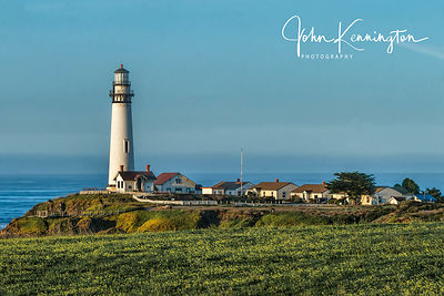 Pigeon Point Light at Sunrise, Pescadero, California