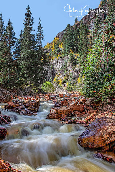 Uncompahgre River, Uncompahgre National Forest, Ouray, Colorado