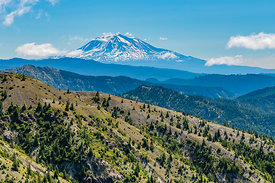 Mount Adams Viewed from Mount St. Helens National Volcanic Monument