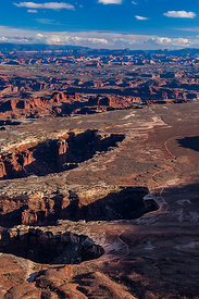 View from Grand View Overlook in Canyonlands National Park