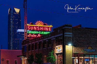 Sunshine Laundry No. 2, Route 66, Oklahoma City